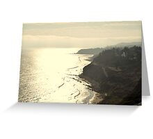 Paseo Del Mar Greeting Card