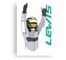 Lewis Hamilton Metal Print