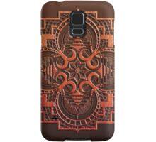 omjárah mandala woodcut Samsung Galaxy Case/Skin