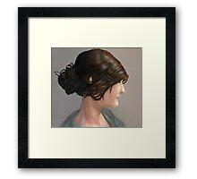 Allie Framed Print