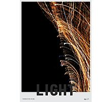 Light - The bright within the dark Photographic Print