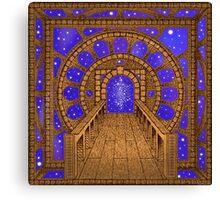 Infinity Gate (órvio) Canvas Print