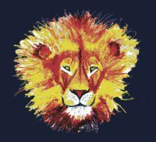 Neon Lion Kids Clothes