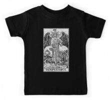 Temperance Tarot Card - Major Arcana - fortune telling - occult Kids Tee