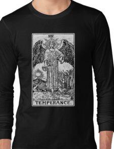 Temperance Tarot Card - Major Arcana - fortune telling - occult Long Sleeve T-Shirt