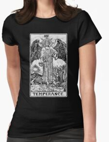Temperance Tarot Card - Major Arcana - fortune telling - occult Womens Fitted T-Shirt