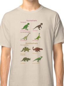 Dinosaur Classification Classic T-Shirt