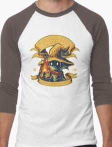 Strong Independent Black Mage Men's Baseball ¾ T-Shirt