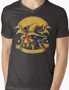 Strong Independent Black Mage Mens V-Neck T-Shirt