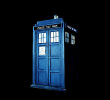 Simple Tardis  by heroinchains