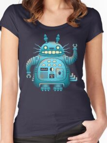 TOTOROBOT! Women's Fitted Scoop T-Shirt