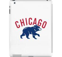 Chicago cubs bear sport iPad Case/Skin