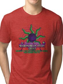Necronomicon Study Group Tri-blend T-Shirt
