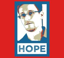 Edward Snowden is HOPE by DILLIGAF
