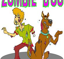 Zombie Scooby Doo by Skree