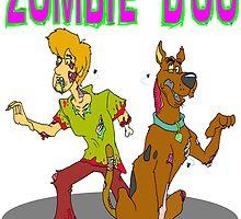 Zombie Scooby Doo by Skree