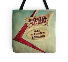 Four Aces Motel  Tote Bag