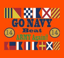 Go Navy Beat Army! Why Wait? Kids Clothes