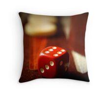 Backgammon game Throw Pillow