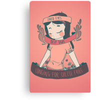 [cheese queen] Canvas Print