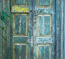 Private Door by Diego  Re