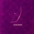 Team Argent Minimalist - Teen Wolf by heroinchains