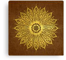 ozoráhmi mandala, copper Canvas Print