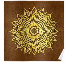 ozoráhmi mandala, copper Poster