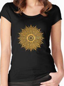 ozoráhmi mandala, copper Women's Fitted Scoop T-Shirt