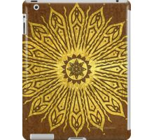 ozoráhmi mandala, copper iPad Case/Skin