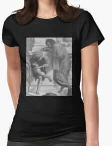 Use Your Illusion - The School of Athens Womens Fitted T-Shirt