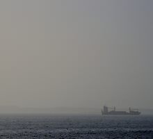 Ship Amongst the Mist by MoniqueFlynn