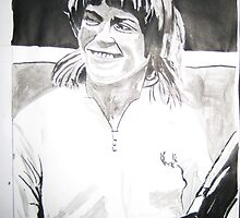 Sue Barker by Colin  Laing
