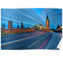 Speed of light @ Parliament Square Poster