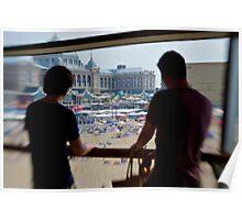 Watching Scheveningen Pass Poster