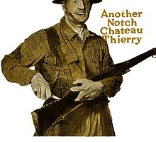 US Marines -- Another Notch Chateau Thierry  by warishellstore