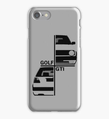 vw golf, golf gti mk2 iPhone Case/Skin