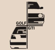 vw golf, golf gti mk2 by hottehue
