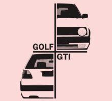 vw golf, golf gti mk2 One Piece - Long Sleeve