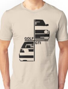 vw golf, golf gti mk2 Unisex T-Shirt