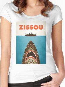 Zissou Women's Fitted Scoop T-Shirt