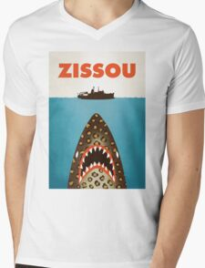 Zissou Mens V-Neck T-Shirt