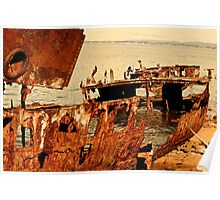 Ship wreck -Redcliffe Poster
