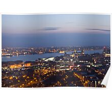 View from Liverpool Anglican cathedral Poster