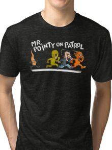 Mr. Pointy Tri-blend T-Shirt