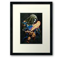 Shadow of Doom Framed Print