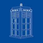 TARDIS Blue by MuggleJoanne