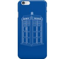 TARDIS Blue iPhone Case/Skin