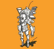 Pixel Mech - Odonata w/o Name by KelvinPut