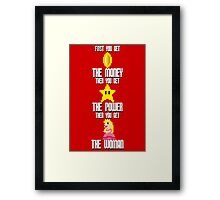 Mario Montana (today colors) Framed Print
